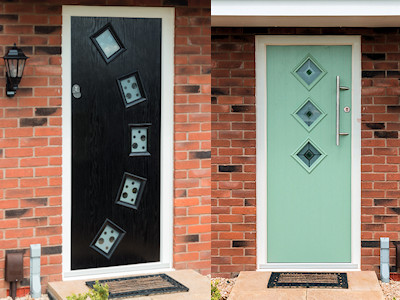Composite doors in High Peak, Derbyshire
