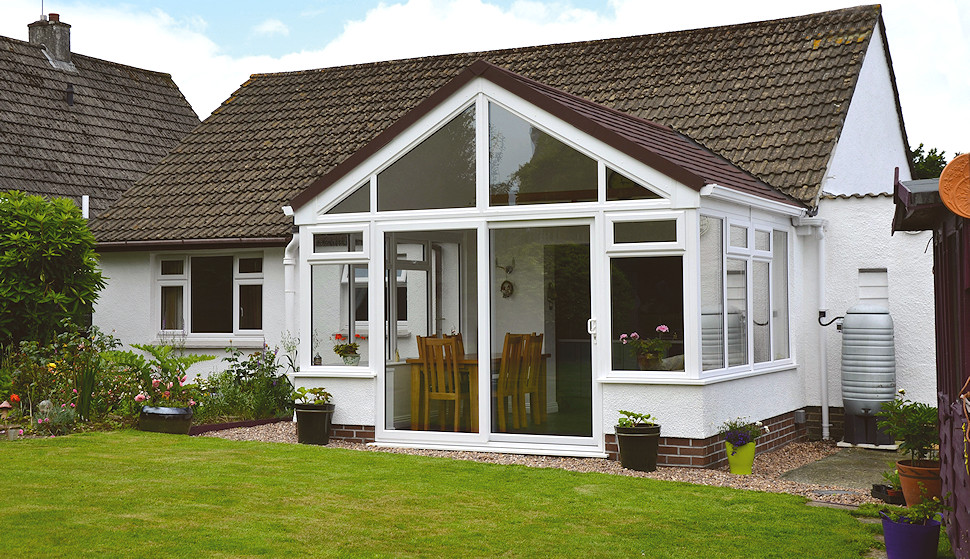 Double glazed conservatory