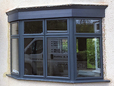 Aluminium double glazed bay windows in High Peak, Derbyshire