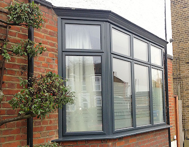 Aluminium double glazed windows in High Peak, Derbyshire