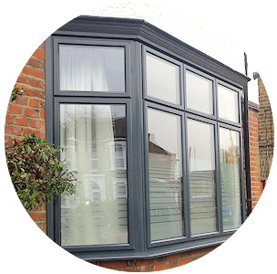 Double glazed aluminium windows