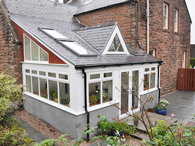 Double glazed conservatories in High Peak, Derbyshire