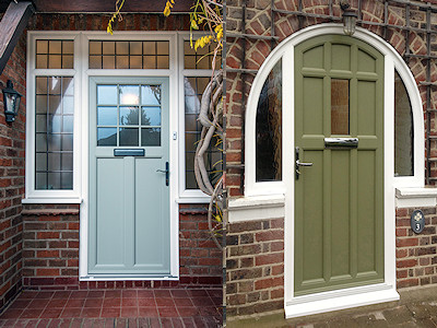 Double glazed doors in High Peak, Derbyshire