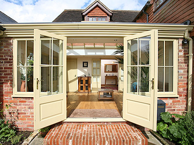 Double glazed orangeries in High Peak, Derbyshire