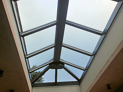 Double glazed roof lanterns in High Peak, Derbyshire