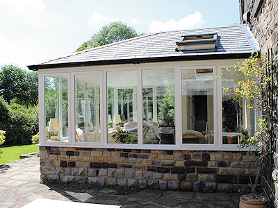 Guardian Warm Roof System in High Peak, Derbyshire