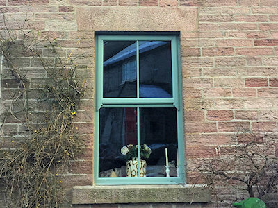 UPVC double glazed sash windows in High Peak, Derbyshire
