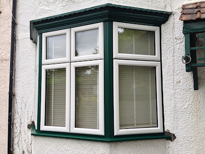 UPVC double glazed bay windows in High Peak, Derbyshire