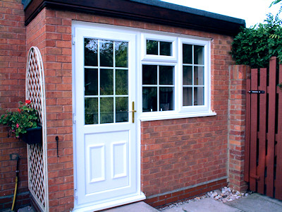 UPVC double glazed doors in High Peak, Derbyshire